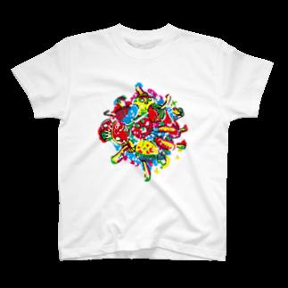 The Loving Treeのmagicmushroom Tシャツ