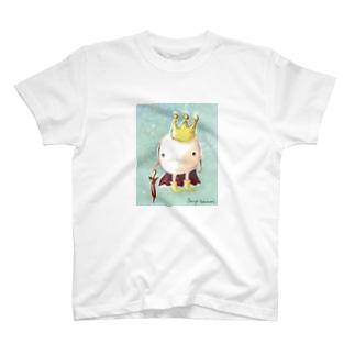 角南育代  雨上がりの王子 T-shirts