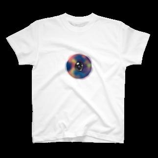 しらつめの光彩の視線 T-shirts