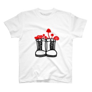 旅するきのこ T-shirts