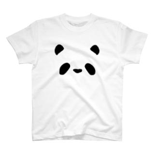 シンプルパンダ T-shirts
