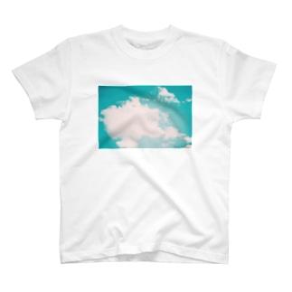 色褪せた空   T-shirts