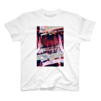 ワインレッド T-shirts