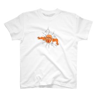突き出た人 Tシャツ T-shirts