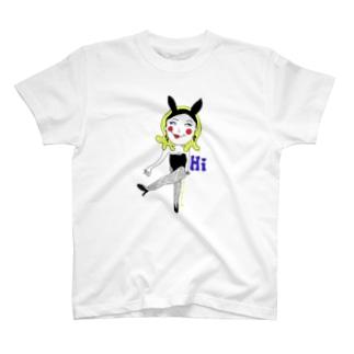 バニーのマリ子さん T-shirts