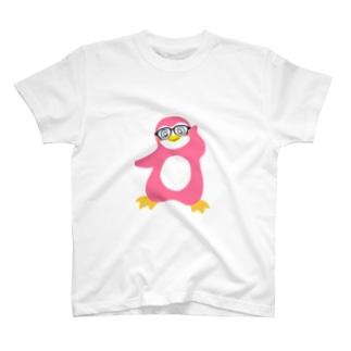 インテリペンギンピンク T-shirts