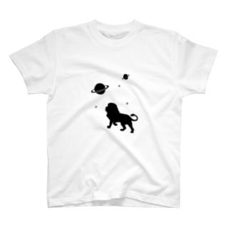 宇宙のライオン T-shirts