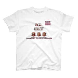 PICOLD:YUMMY→BURGERS T-shirts