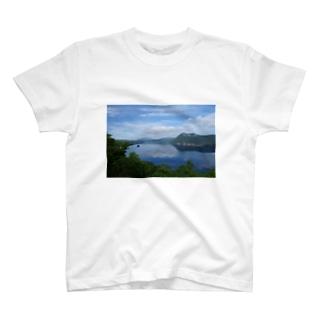 夢の摩周湖 T-shirts