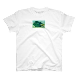 青い魚 T-shirts