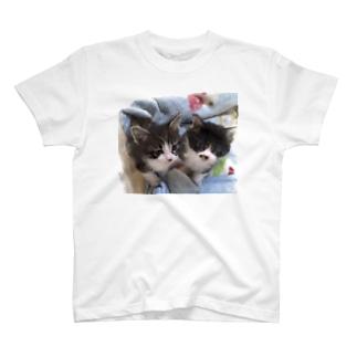 レオンとそら T-shirts