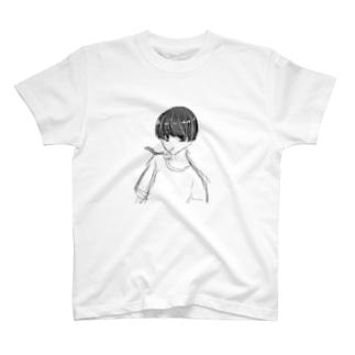 黒髪マッシュのあいつ T-shirts