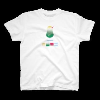 hrsworld™のクリームソーダとカラーパレット T-shirts