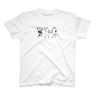 陽気な3人組 T-shirts