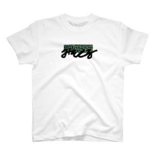 みそしる・緑色 T-shirts