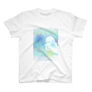 まっシロイルカさんの T-shirts