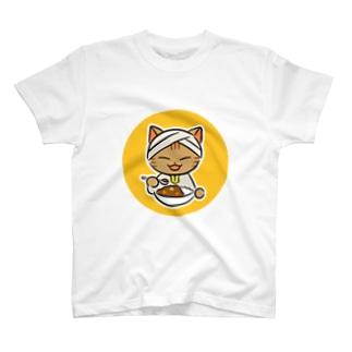 ねこターバン(アイコンイラスト・バージョン) T-shirts