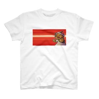 ねこターバン(ヘッダーイラスト・バージョン) T-shirts