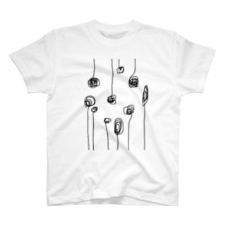 もじゃ T-shirts