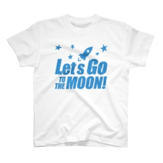Let's go to the Moon! T-shirts