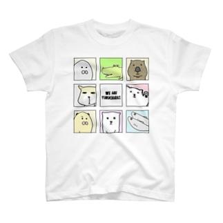 ゆるきゃらズ 大集合ver. T-shirts