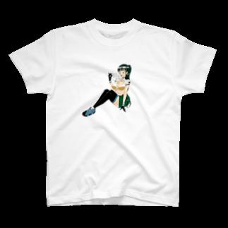 平成は終わったの擬人化シークヮーサーTシャツ T-shirts