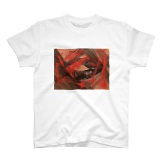 裂ける前の唇 T-shirts