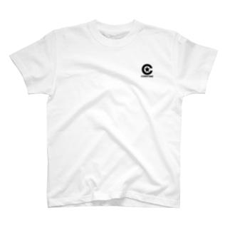 コエンタイムロゴ[刷色:黒] T-shirts