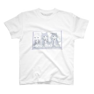 じーとぅえんてぃーねこ T-shirts