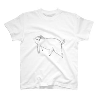 見返りネコ T-shirts