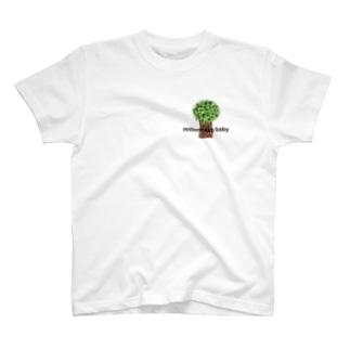 Millennium baby wood T-shirts