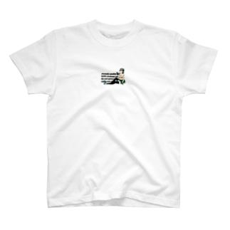 擬人化シークヮーサー Ⅱ T-shirts