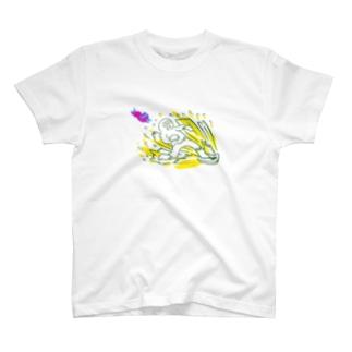 かたあしさーふぃん T-shirts