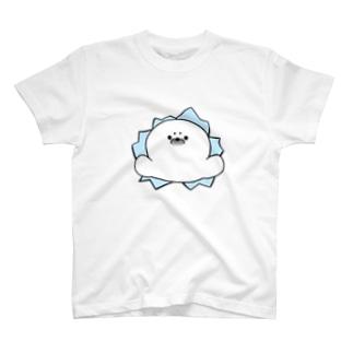 突き抜けざらし T-shirts