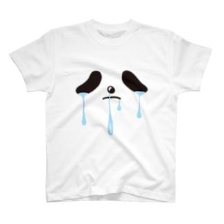 限界パンダさん T-shirts
