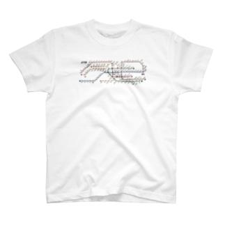 台湾行った時の地下鉄 T-shirts