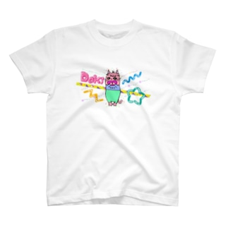 Dokiっとキャット(ピンク)  T-shirts