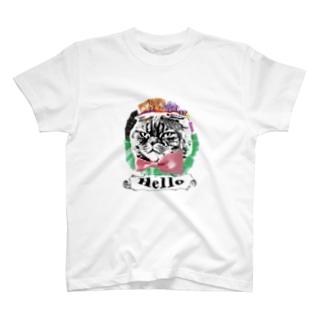 Helloキャット T-shirts