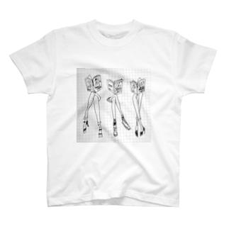 koshikake bikyaku ♡ T-shirts