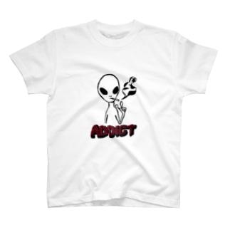 スモーカーエイリアン T-shirts