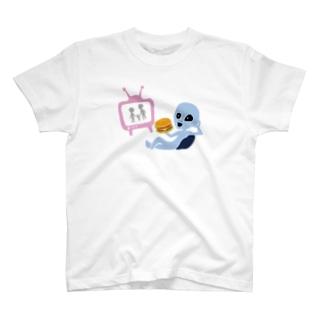 キャトラレバーガーのゆくえ T-shirts
