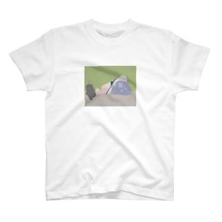 読書感想の途中 T-shirts
