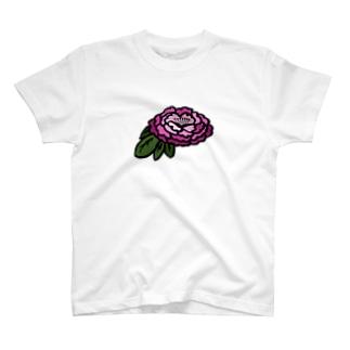Botan   紫色 T-shirts