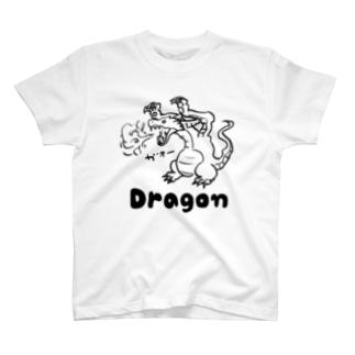 ゆるかわドラゴン T-shirts