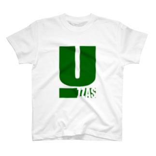 ウッツァス緑文字 T-shirts
