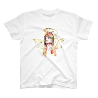 喫煙天使 T-shirts