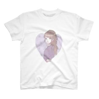 かわいい女の子 T-shirts