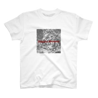 ナポレオン  白黒 T-shirts