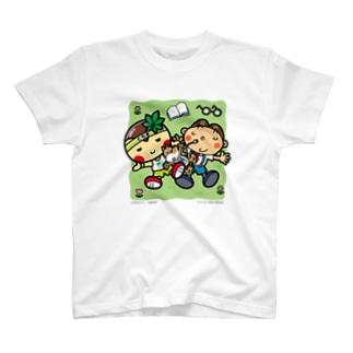 とちまるくんとパソコン太郎の夢絵本【お昼寝】 T-shirts