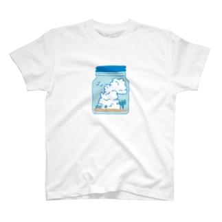薄浅葱の空 T-shirts